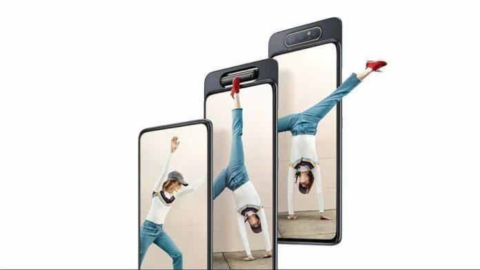 HP Samsung Galaxy A82 Hadirkan Kamera Putar Untuk Selfie