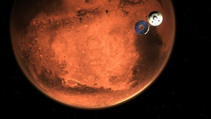 Penampakan Pelangi di Mars, oleh Robot Penjelajah NASA Perseverance